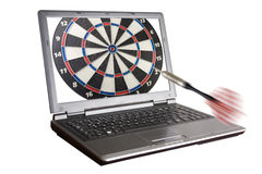 on target Stock Photography