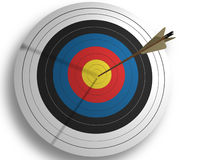 Target. With array - 3d render Royalty Free Stock Image