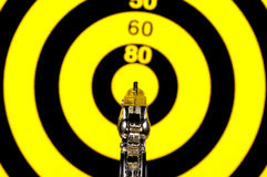 On Target Royalty Free Stock Images