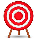 Target. Red target on white background Royalty Free Stock Images