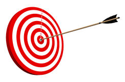 On Target Royalty Free Stock Photos