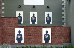 Target. For trainings on shooting Royalty Free Stock Image