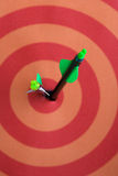 Target. And arrows royalty free stock photos