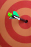 Target. And arrow royalty free stock images