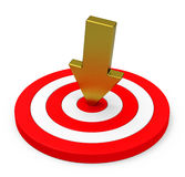 The Target Royalty Free Stock Image