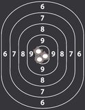 On Target Royalty Free Stock Photography