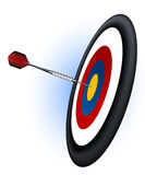Target. Vector illustration, Ai file included Royalty Free Stock Photo