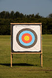 Target. Olympic Archery Target with Bullseye Royalty Free Stock Photos