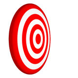 Target. Isolated on white background Stock Photos