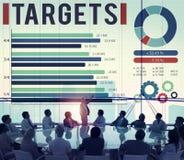 Target Achievement Goal Success Aspiration Concept Royalty Free Stock Photography