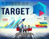 Target Achievement Goal Success Aspiration Concept Stock Photo