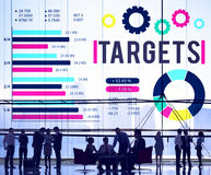 Target Achievement Goal Success Aspiration Concept stock images
