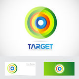 Target advertising logo Stock Photos