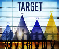 Target Aim Aspiration Vision Solution Concept Royalty Free Stock Photography