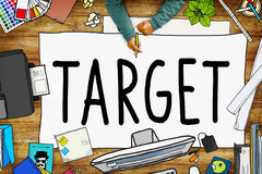 Target Aim Goal Marketing Mission Aspiration Concept Stock Photography