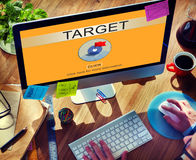 Target Aim Goal Objective Potential Value Vision Concept Royalty Free Stock Photography