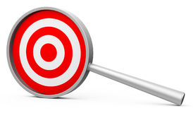 Target analysis Royalty Free Stock Images