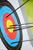 Target archery Stock Photo
