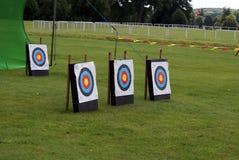 Target archery. Archery. Royalty Free Stock Photo