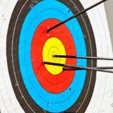Target archery Stock Photography