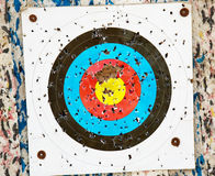 Target archery Royalty Free Stock Images