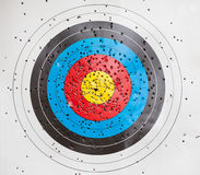 Target for archery Stock Photography