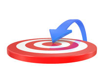 Target and arrow Royalty Free Stock Photography