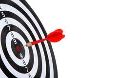 Target with arrow Stock Photos