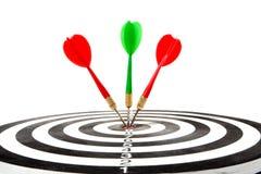 Target with arrow royalty free stock photos