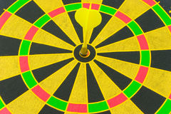 Target with an arrow. Bright target with an arrow hit the mark Royalty Free Stock Image