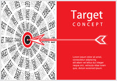 Target arrow Stock Photos
