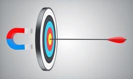 Target with an arrow Royalty Free Stock Photos