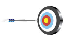 Target with arrow Stock Images
