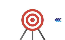Target with arrow Royalty Free Stock Image
