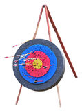 Target with arrows Royalty Free Stock Image