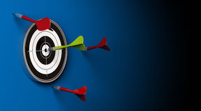 Target and arrows Stock Image