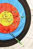 Target and arrows Stock Photo