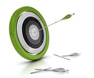 Target and arrows concept Royalty Free Stock Photography