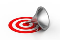 Target attain concept Stock Photography