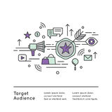 Target Audience Concept Stock Photos