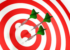 When Target Avoids you!. Target avoiding the try to hit it Royalty Free Stock Photography