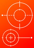 Target background Stock Images