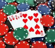 target1708_0_ bawić się kart układ scalony Fotografia Royalty Free