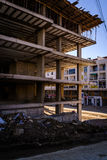 target1611_1_ betonowe budowy podłoga miejsca ściany Zdjęcie Royalty Free