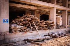 target1611_1_ betonowe budowy podłoga miejsca ściany Zdjęcia Royalty Free