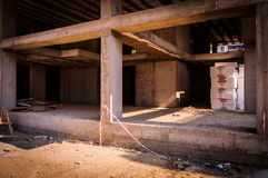 target1611_1_ betonowe budowy podłoga miejsca ściany Zdjęcie Stock