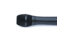 target1703_0_ biel tło mikrofon istotny głośny obrazy stock