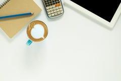 target1166_0_ biznesmena biurka biurowy sieci biel Zdjęcia Stock