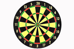 Target board for dart game Stock Photo