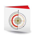 Target Book Royalty Free Stock Photo